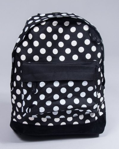 MI PAC SNAPBACK ALL POLKA BLACK-WHITE