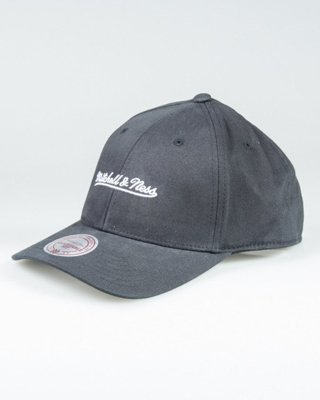 MITCHELL & NESS CAP INTL104 FLEXFIT BLACK