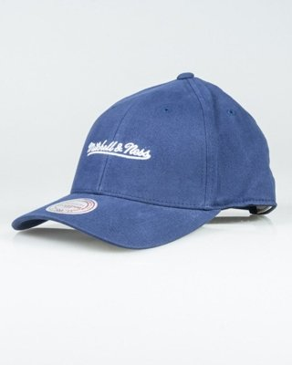 MITCHELL & NESS CAP INTL104 FLEXFIT NAVY