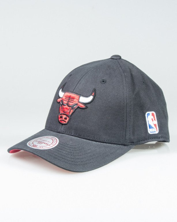 MITCHELL & NESS CAP QC97Z FLEXFIT CHICAGO BULLS BLACK