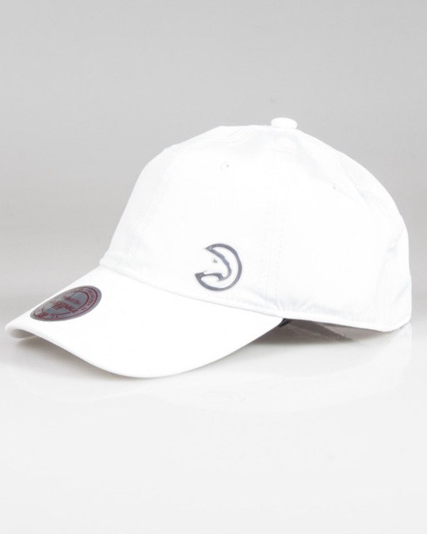 MITCHELL&NESS CAP VICTORY INTL022 ATLHAW WHITE