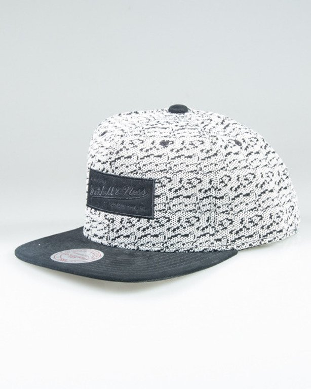 MITCHELL & NESS SNAPBACK INTL092 THREE 50 WHITE-BLACK