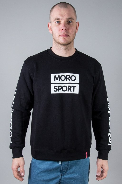 MORO CREWNECK MORO SIMPLE BLACK