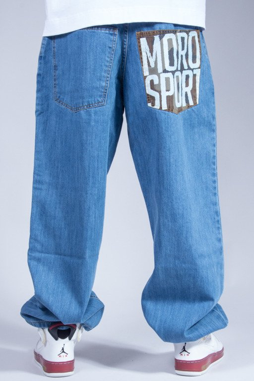 MORO SPORT JEANS BAGGY LIGHT