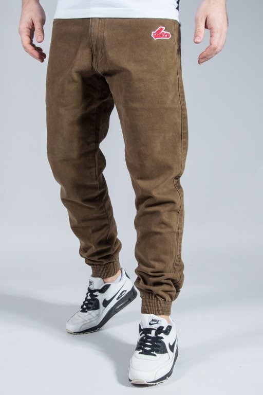 MORO SPORT PANTS CHINO JOGGER BASEBALL BROWN