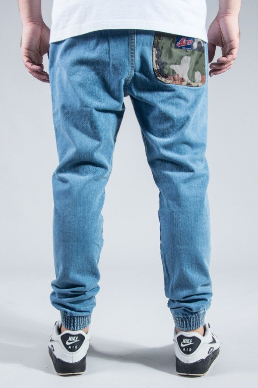 MORO SPORT PANTS JEANS JOGGER CAMO POCKET LIGHT