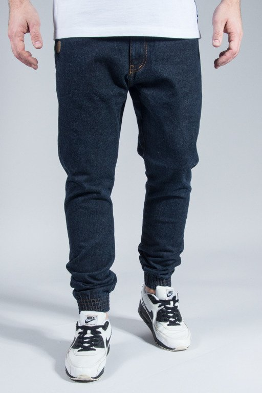 MORO SPORT PANTS JEANS JOGGER MINI PARIS BASEBALL DARK