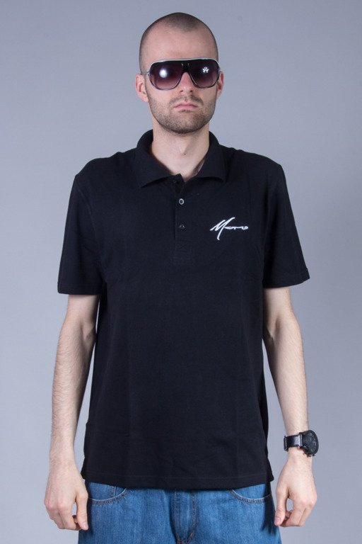MORO SPORT POLO PARIS  BLACK
