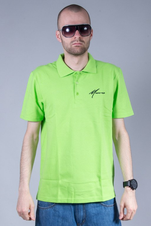 MORO SPORT POLO PARIS GREEN