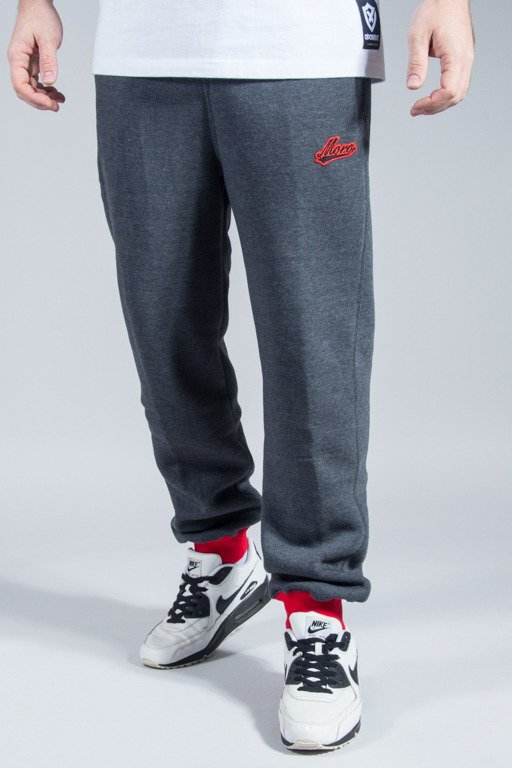 MORO SPORT SWEATPANTS BASEBALL DUO GREY-RED