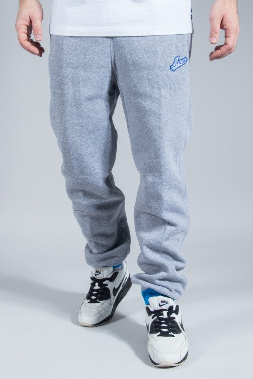 MORO SPORT SWEATPANTS BASEBALL DUO MELANGE-BLUE