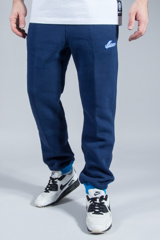 MORO SPORT SWEATPANTS BASEBALL DUO NAVY-BLUE