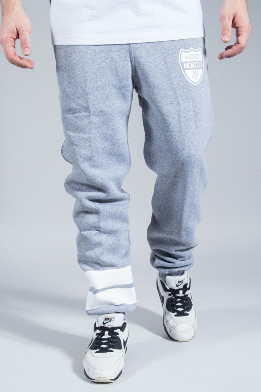 MORO SPORT SWEATPANTS SHIELD MELANGE