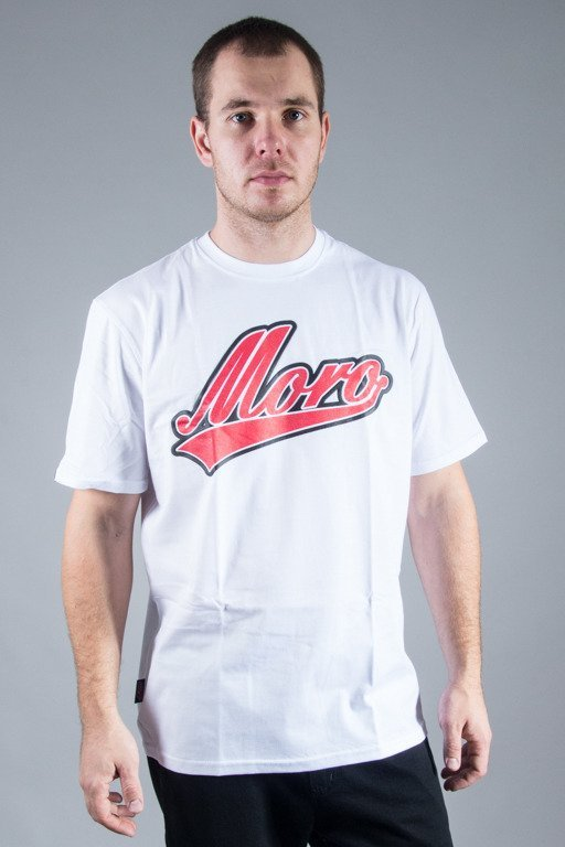 MORO SPORT T-SHIRT BASEBALL WHITE