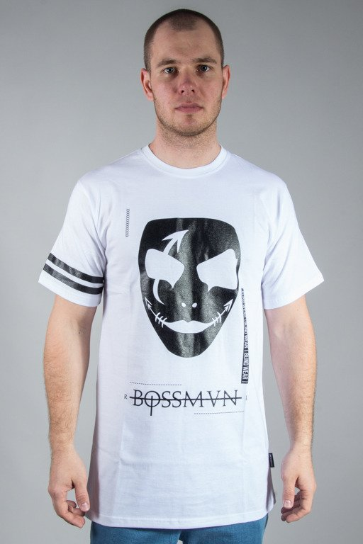 NBL x BLIND WEAR T-SHIRT BOSSMAN WHITE
