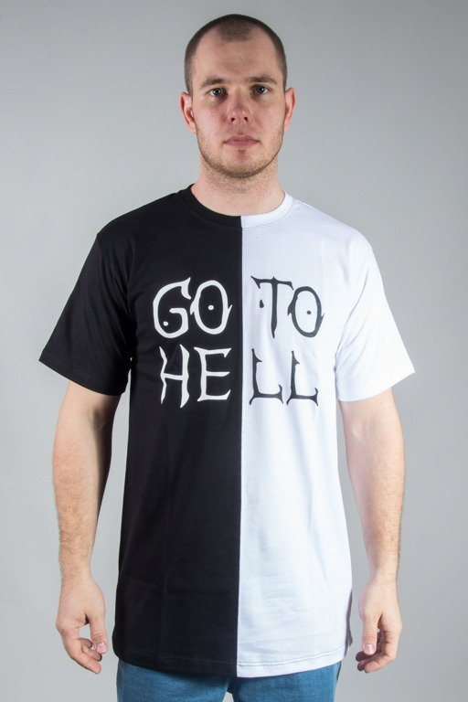 NBL x BLIND WEAR T-SHIRT GOTOHELL BLACK-WHITE
