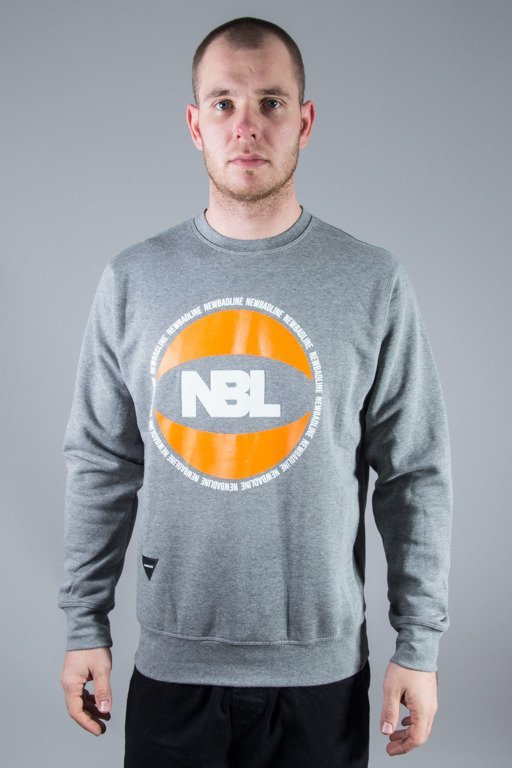 NEW BAD LINE CREWNECK BASKET GREY
