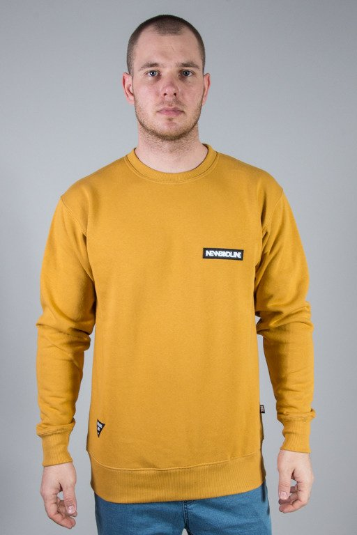 NEW BAD LINE CREWNECK BOX CAMEL