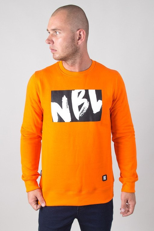 NEW BAD LINE CREWNECK DRAW ORANGE