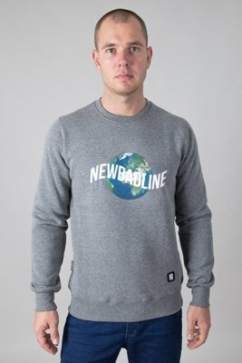 NEW BAD LINE CREWNECK EARTH MELANGE
