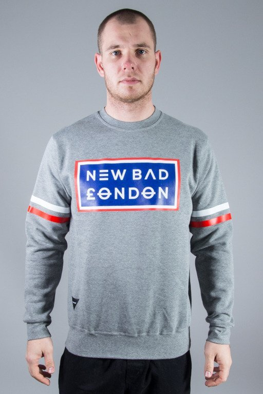 NEW BAD LINE CREWNECK LONDON GREY