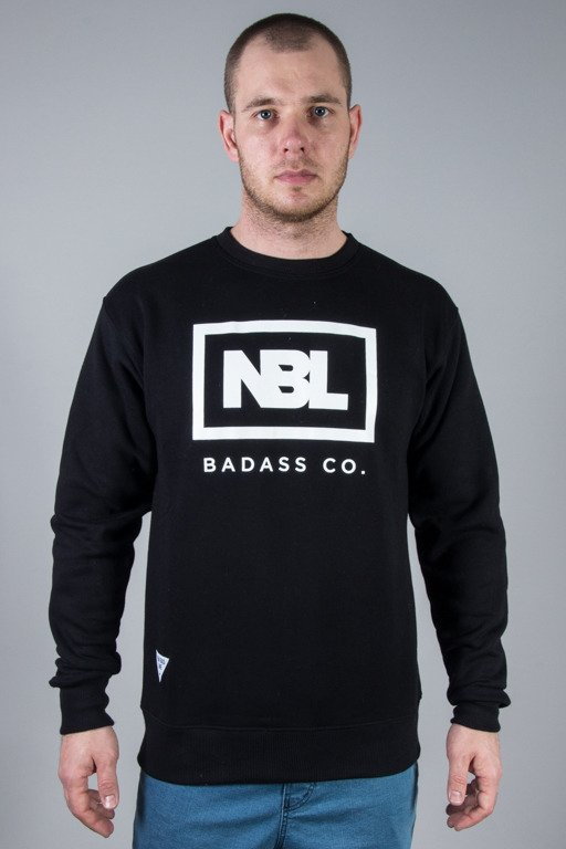 NEW BAD LINE CREWNECK NEW ICON BLACK