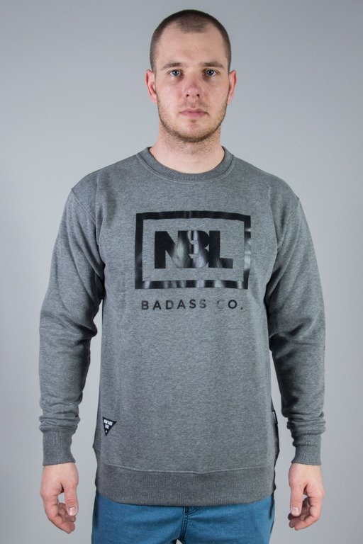 NEW BAD LINE CREWNECK NEW ICON GREY