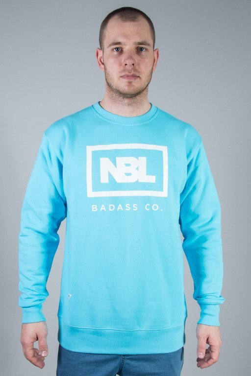 NEW BAD LINE CREWNECK NEW ICON LIGHT BLUE