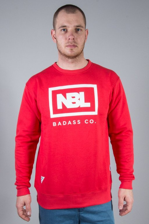 NEW BAD LINE CREWNECK NEW ICON RASEBERRY