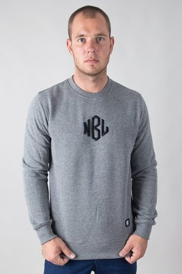 NEW BAD LINE CREWNECK ROMB MELANGE
