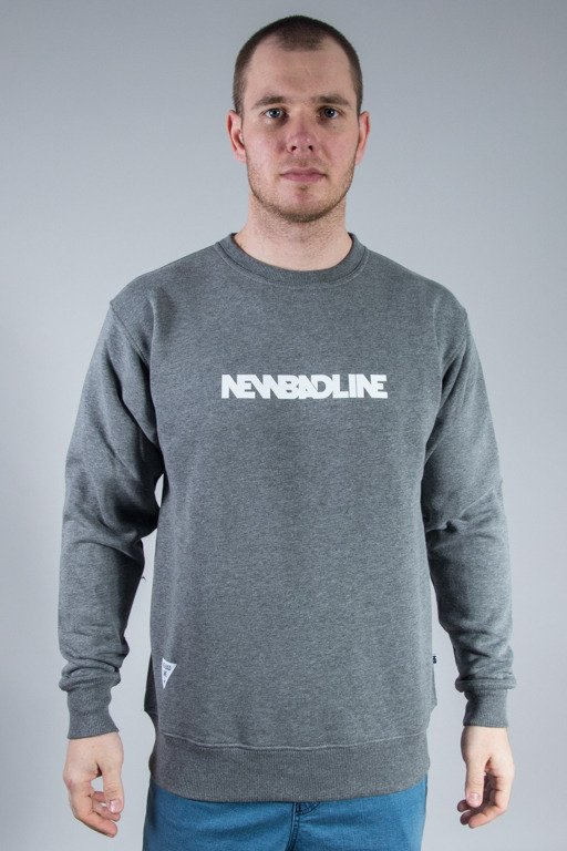 NEW BAD LINE CREWNECK SMALL CLASSIC GREY