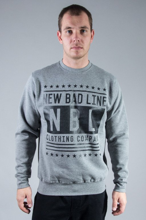 NEW BAD LINE CREWNECK SWAG GREY