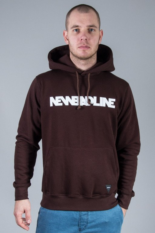 NEW BAD LINE HOODIE CLASSIC BROWN