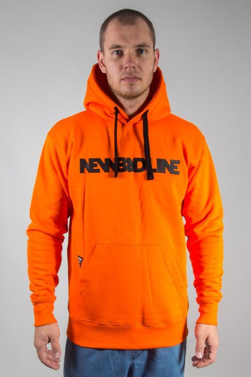 NEW BAD LINE HOODIE CLASSIC ORANGE
