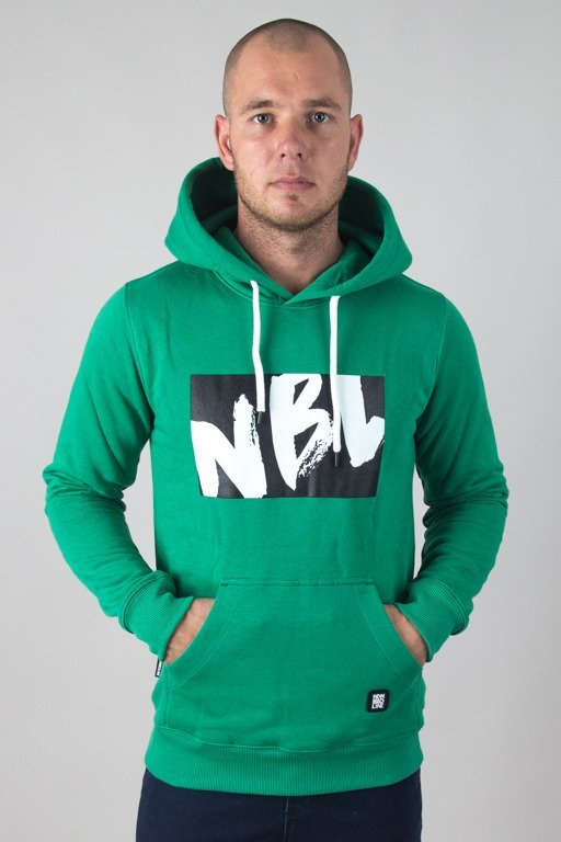 NEW BAD LINE HOODIE DRAW GREEN