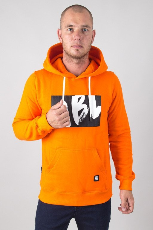 NEW BAD LINE HOODIE DRAW ORANGE