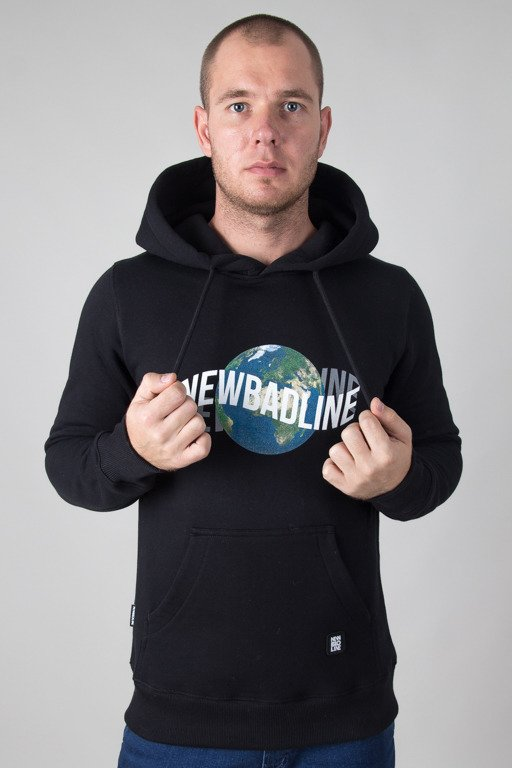 NEW BAD LINE HOODIE EARTH BLACK