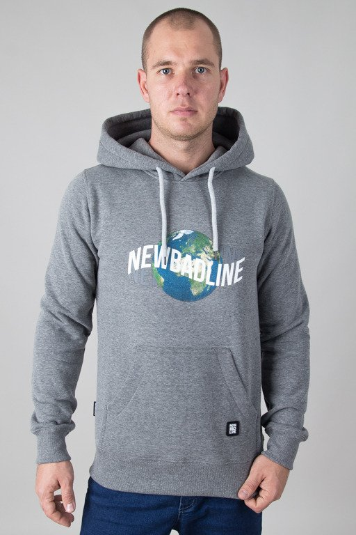 NEW BAD LINE HOODIE EARTH MELANGE