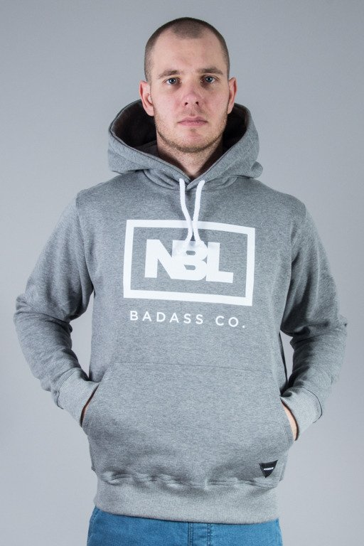 NEW BAD LINE HOODIE ICON GREY