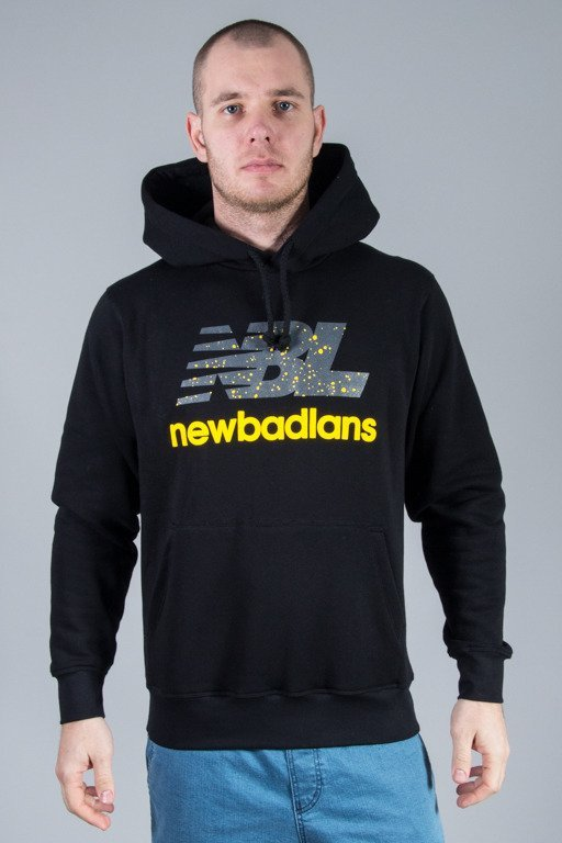 NEW BAD LINE HOODIE NEWBADLANS BLACK