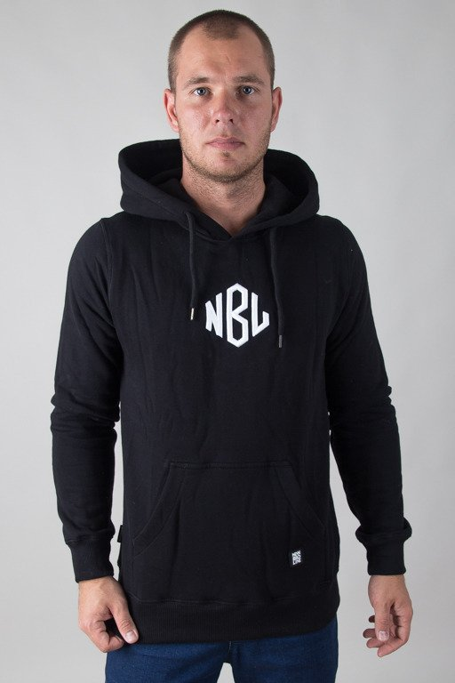NEW BAD LINE HOODIE ROMB BLACK