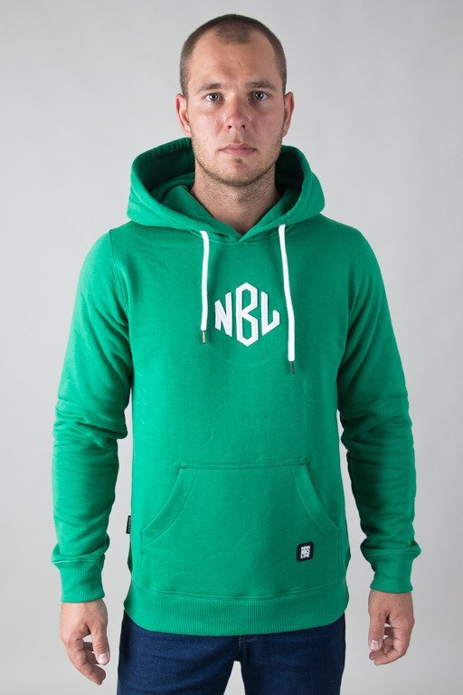 NEW BAD LINE HOODIE ROMB GREEN