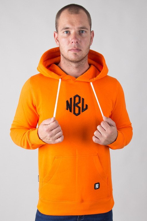 NEW BAD LINE HOODIE ROMB ORANGE