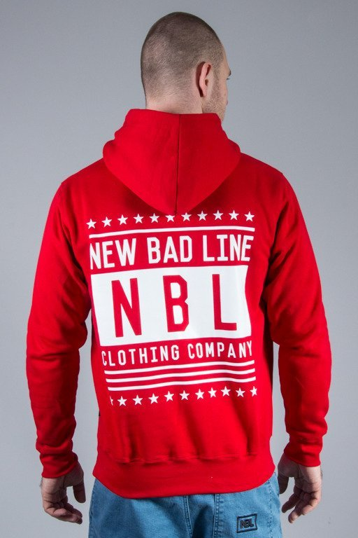 NEW BAD LINE HOODIE SWAG RED