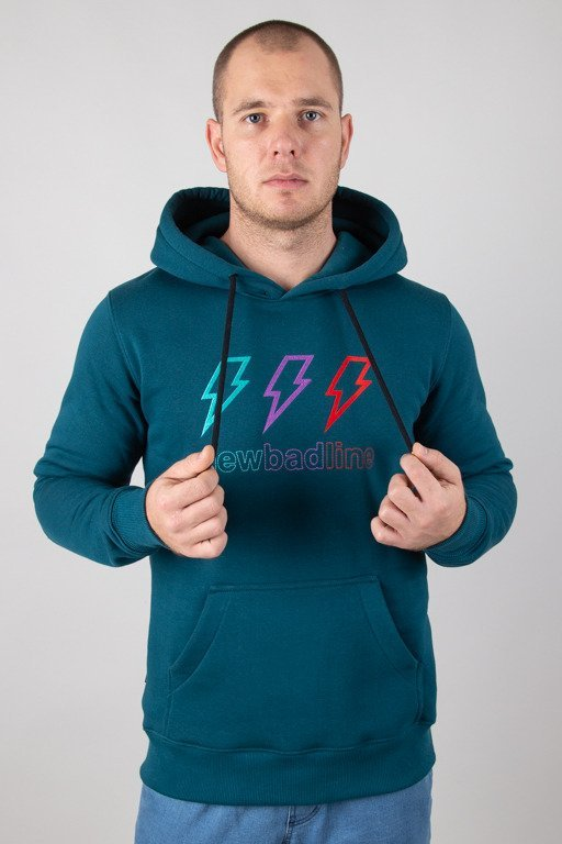 NEW BAD LINE HOODIE THUNDER EMERALD
