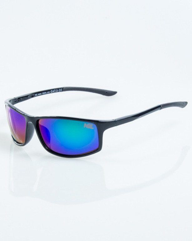 NEW BAD LINE OKULARY BIKER MAT RUBBER 1048