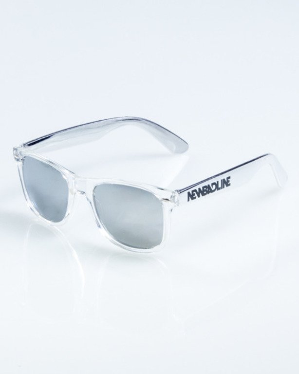 NEW BAD LINE OKULARY CLASSIC CLEAR INOX 855