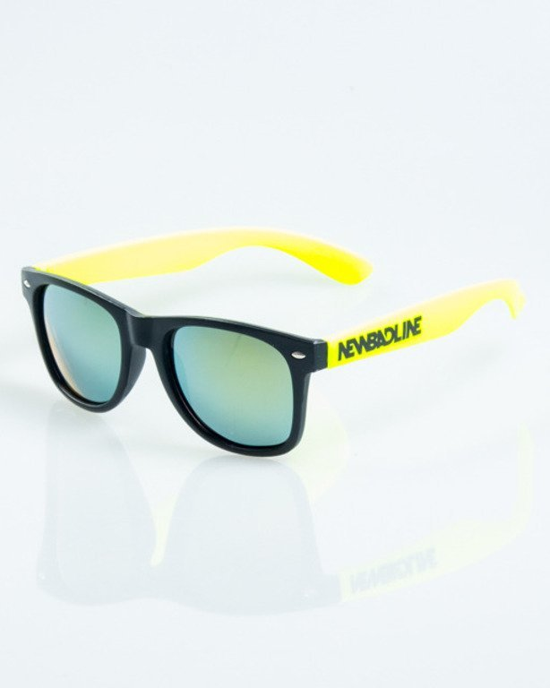 NEW BAD LINE OKULARY CLASSIC HALF MAT 1037