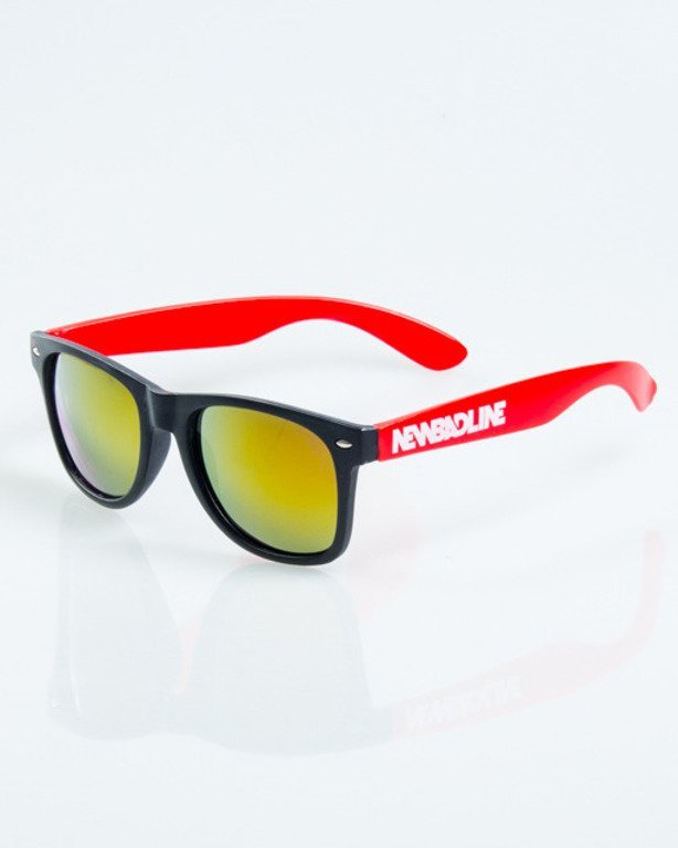 NEW BAD LINE OKULARY CLASSIC HALF MAT 1038