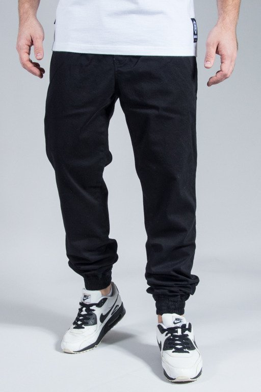 NEW BAD LINE PANTS CHINO JOGGER ICON BLACK